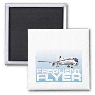 For the jet setter: Frequent flyer Magnet