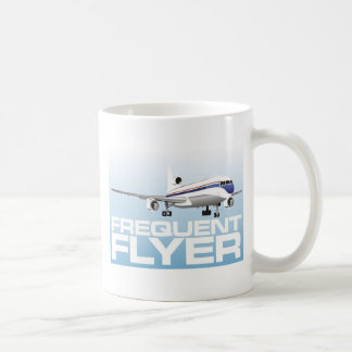 For the jet setter: Frequent flyer Mugs