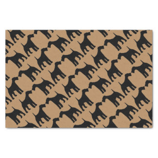 For The Love of Airedale Terrier Dogs Tissue Paper