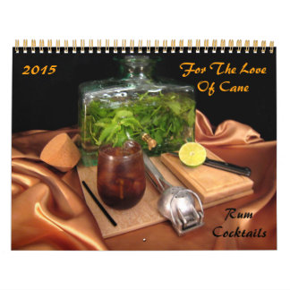 For the Love of Cane - Rum Cocktails Calendars