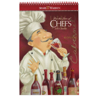 For the Love of CHEFS Calendar 2013