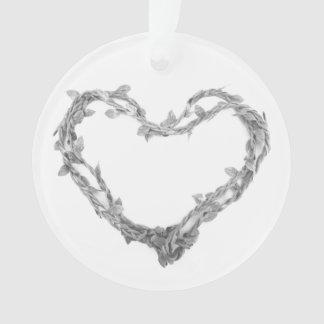 For the Love of Christmas - Twine Heart Ornament