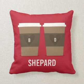 For the Love of Coffee Pillow