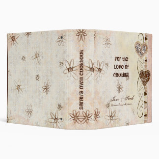 For the Love of Cooking, New Bride's Cookbook Bind Binder