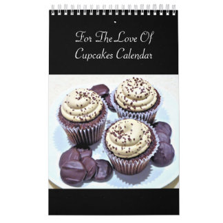For The Love Of Cupcakes Calendar