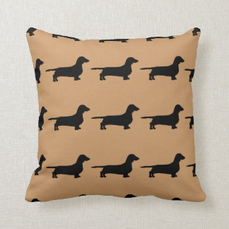 For the Love of Dachshunds Throw Pillow