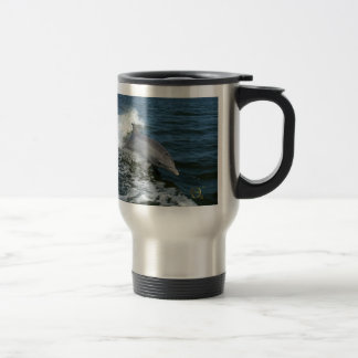 For the Love of Dolphins Travel Mug
