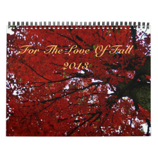 For The Love Of Fall Calendar