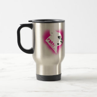 For the Love of Frenchies - Rescue Me 15 Oz Stainless Steel Travel Mug