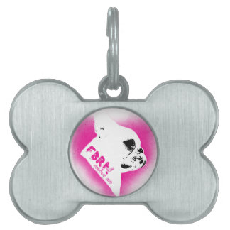 For the Love of Frenchies - Rescue Me Pet ID Tag