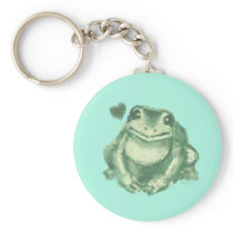 For the Love of Frog Keychain