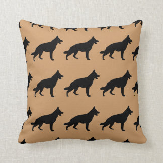 For the Love of German Shepherd Dogs Throw Pillow
