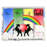 For the Love of Goats Goat Collectors Calendar