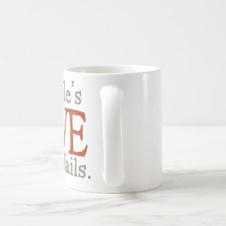 For the love of goldendoodles classic white coffee mug