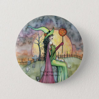 For the Love of Halloween Button Pin
