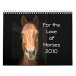 For the Love of Horses 2010 Calendar