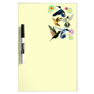 For The Love Of Hummingbirds Dry Erase Whiteboards