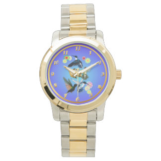 For The Love Of Hummingbirds Wristwatch