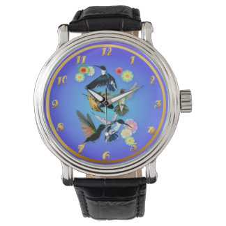 For The Love Of Hummingbirds Wristwatches