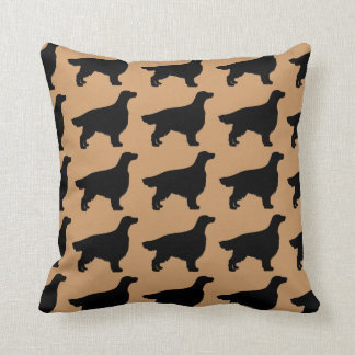 For the Love of Irish Setters Throw Pillow