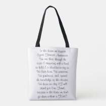 For The Love of Khaos - In This House Tote