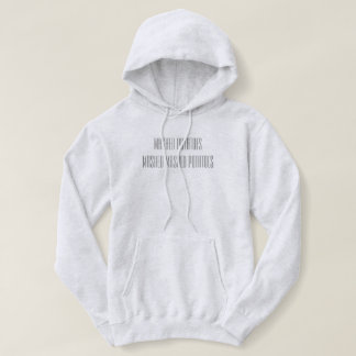 For the love of mashed potatoes hoodie