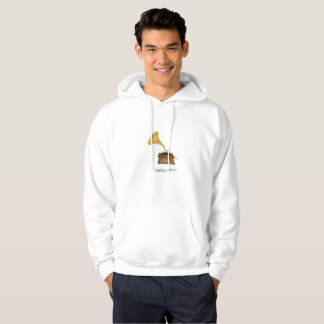 For the love of music hoodie