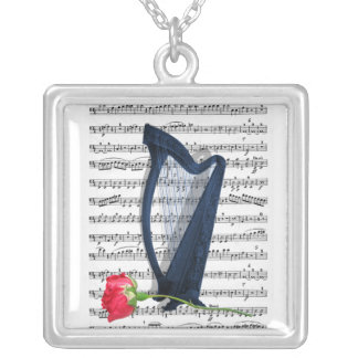 For the love of Music Pendant