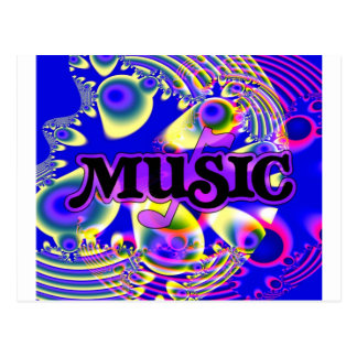 For the LOVE of MUSIC! Postcard