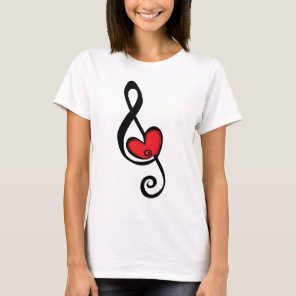 For The Love Of Music T-Shirt