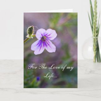 For The Love of my Life 2 Greeting Card