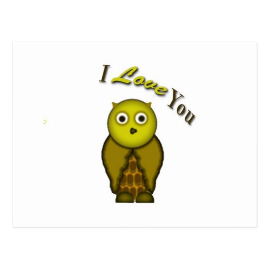For the Love of Owl Postcard