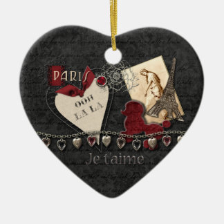 For The Love Of Paris Ornament