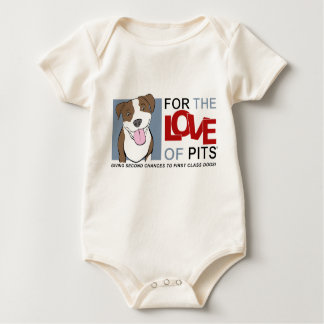 For the Love of Pits® Organic onesy Creeper