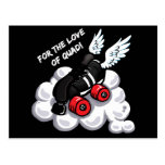 For the love of quad postcard