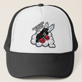 For the love of quad trucker hat