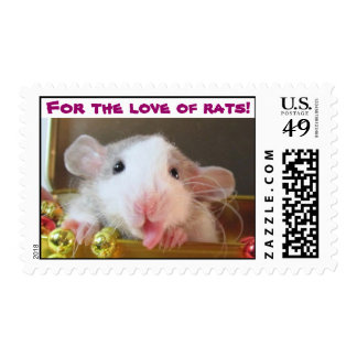 For the love of rats! postage stamps
