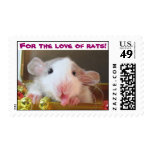 For the love of rats! stamp