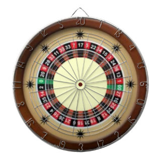 For The Love of Roulette Dartboard With Darts