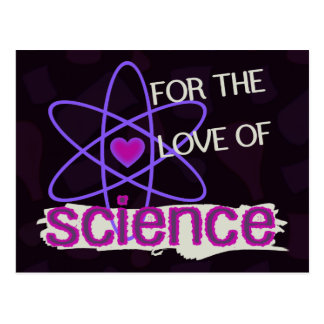 For the Love of Science Postcard