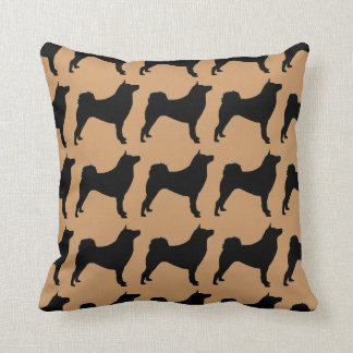 For the Love of Shiba Inus Throw Pillow