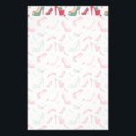 "For the Love Of Shoes Stationery<br><div class=""desc"">Decorative shoe pattern. Girly  monogram template.</div>"