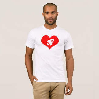 For The Love of Space:  A little heartburn T-Shirt