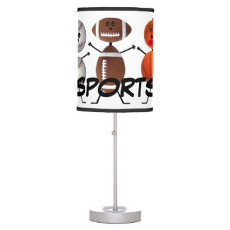 For The Love of Sports Lamps