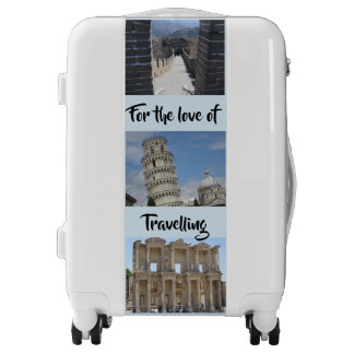 For the Love of Traveling Suitcase