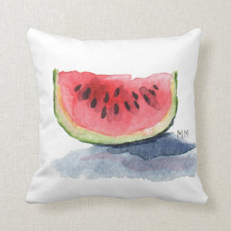 For the Love of Watermelon! Throw Pillow