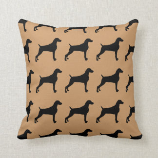 For the Love of Weimaraners Throw Pillows