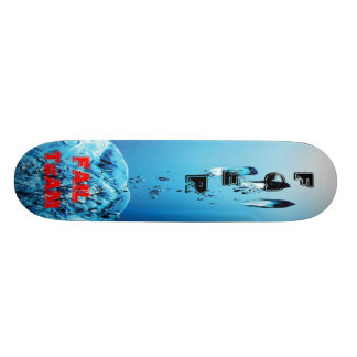 For the Model Fger Storm in glass of to water - Fa Skateboard Deck