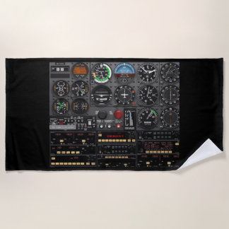 FOR the PILOT THAT HAS EVERYTHING Beach Towel