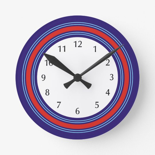 For the racing driver and motorsport enthusiast round clock